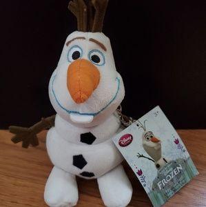 NWT Disney Olaf Frozen plush coin purse